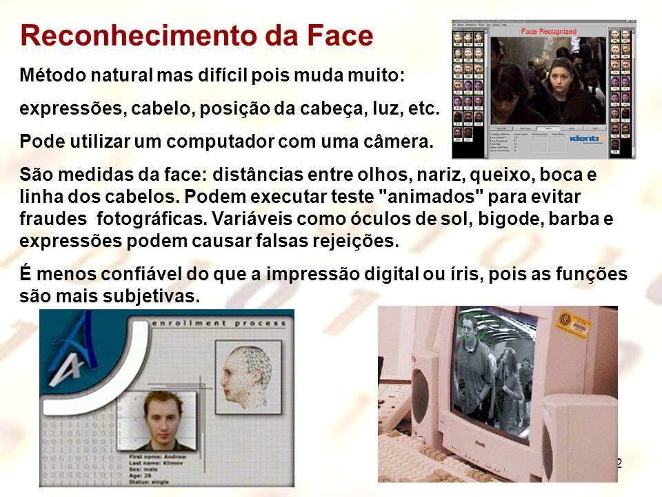 Reconhecimento da Face