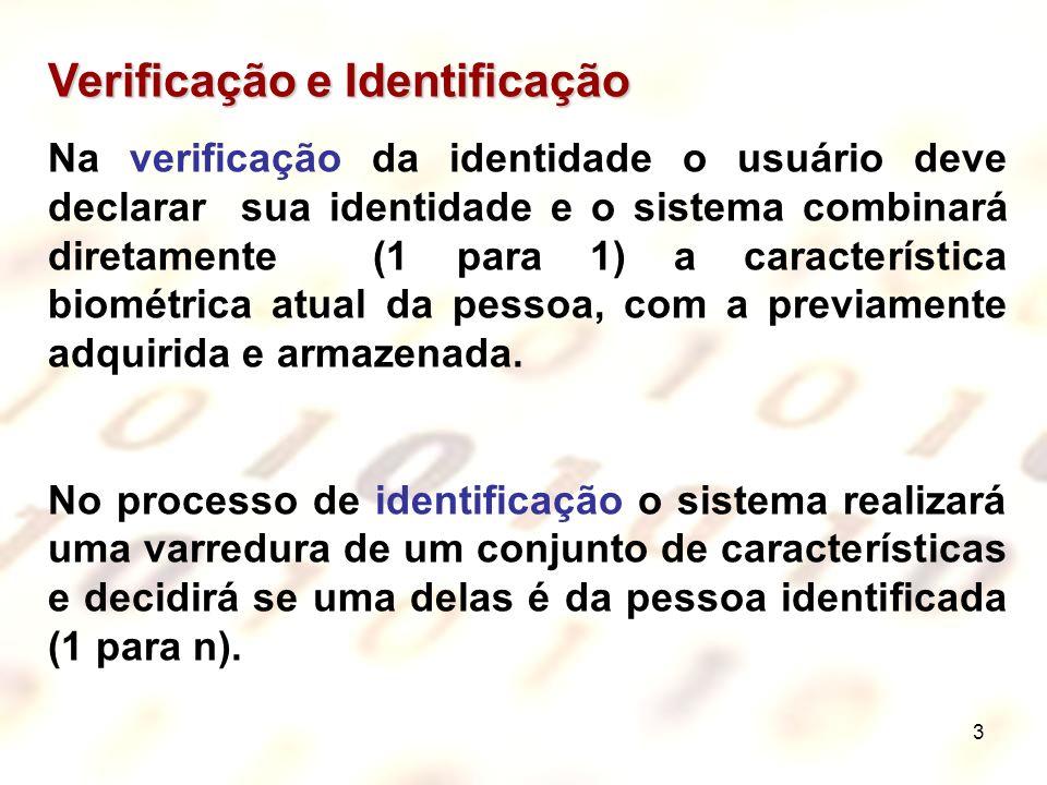 Verificação e Identificação