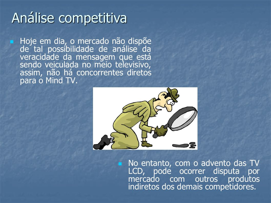 Análise competitiva