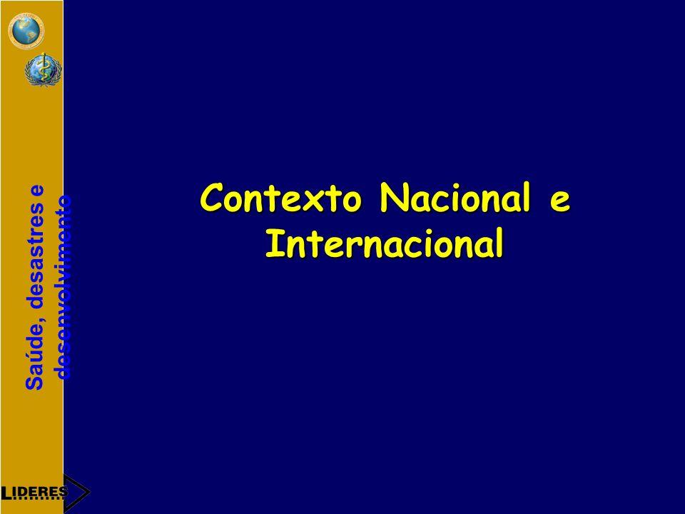 Contexto Nacional e Internacional