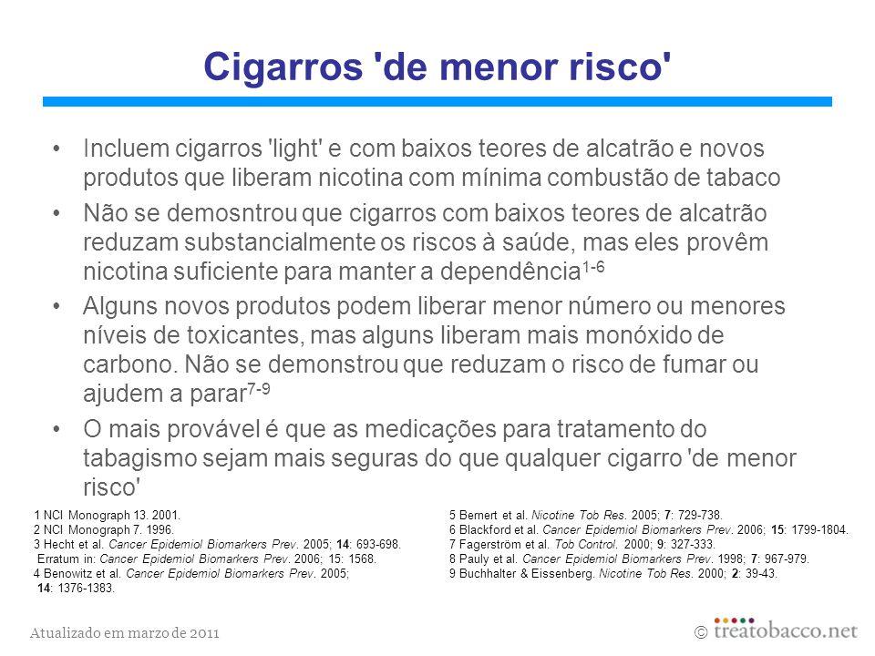 Cigarros de menor risco