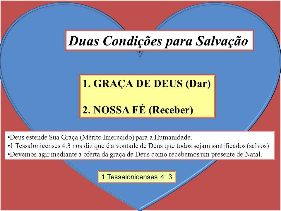 Duas Condições para Salvação
