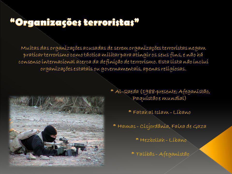 Organizações terroristas