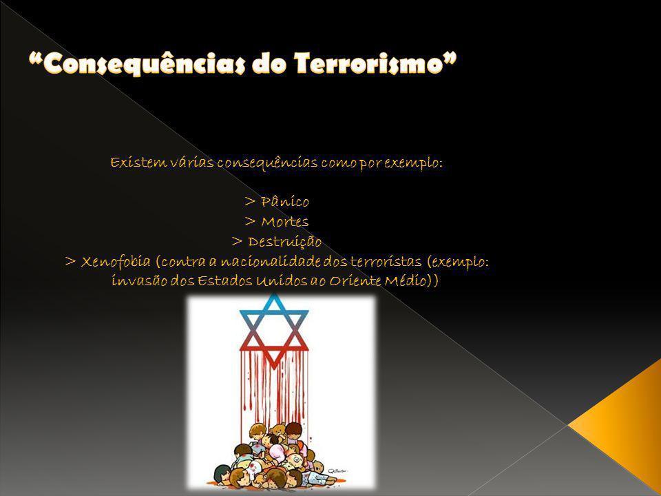 Consequências do Terrorismo