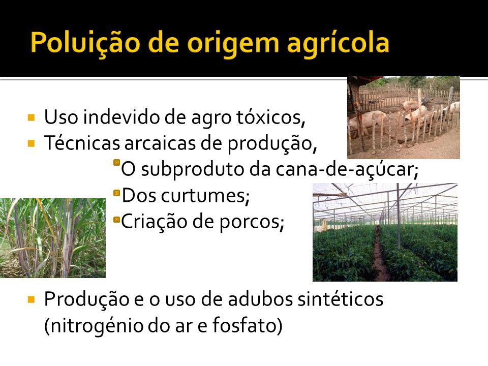 Poluição de origem agrícola