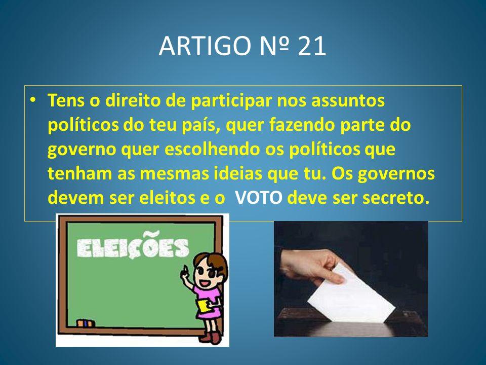 ARTIGO Nº 21