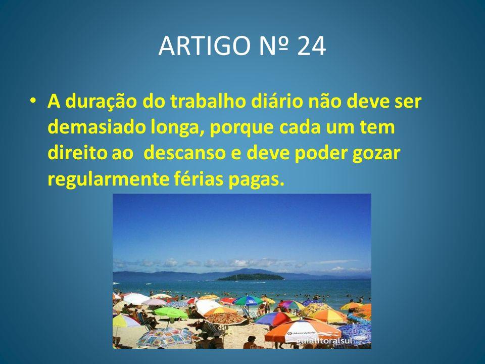 ARTIGO Nº 24