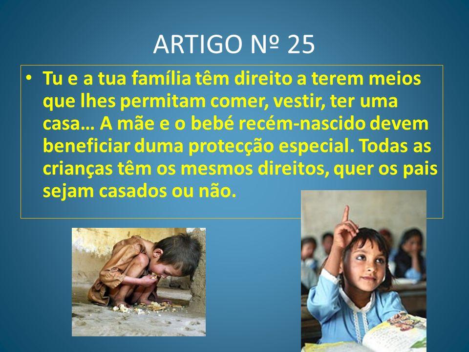 ARTIGO Nº 25