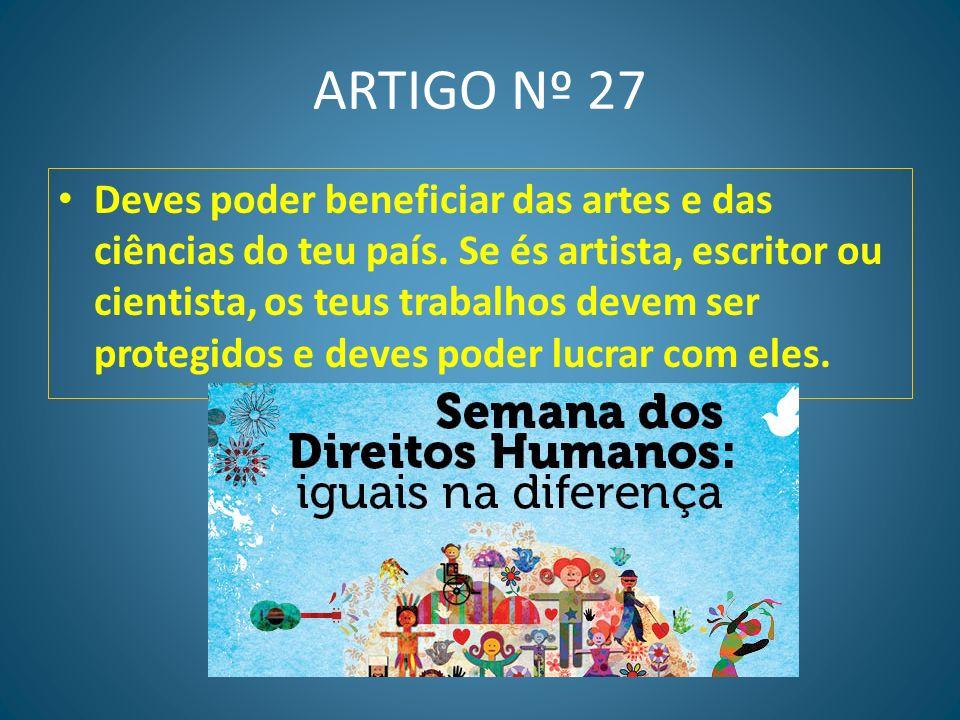 ARTIGO Nº 27
