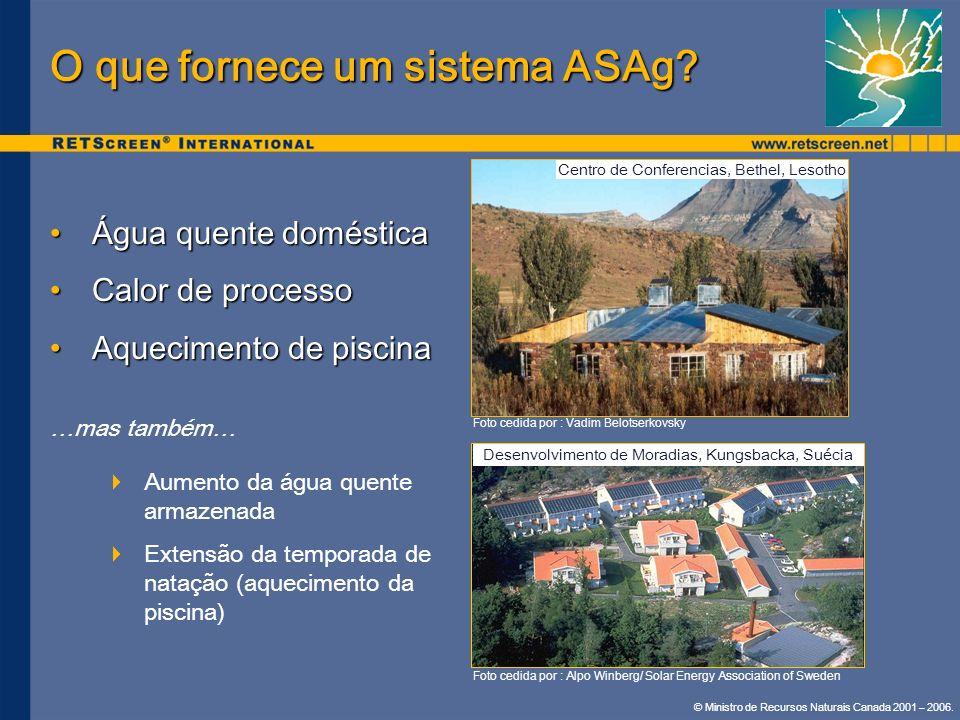 O que fornece um sistema ASAg