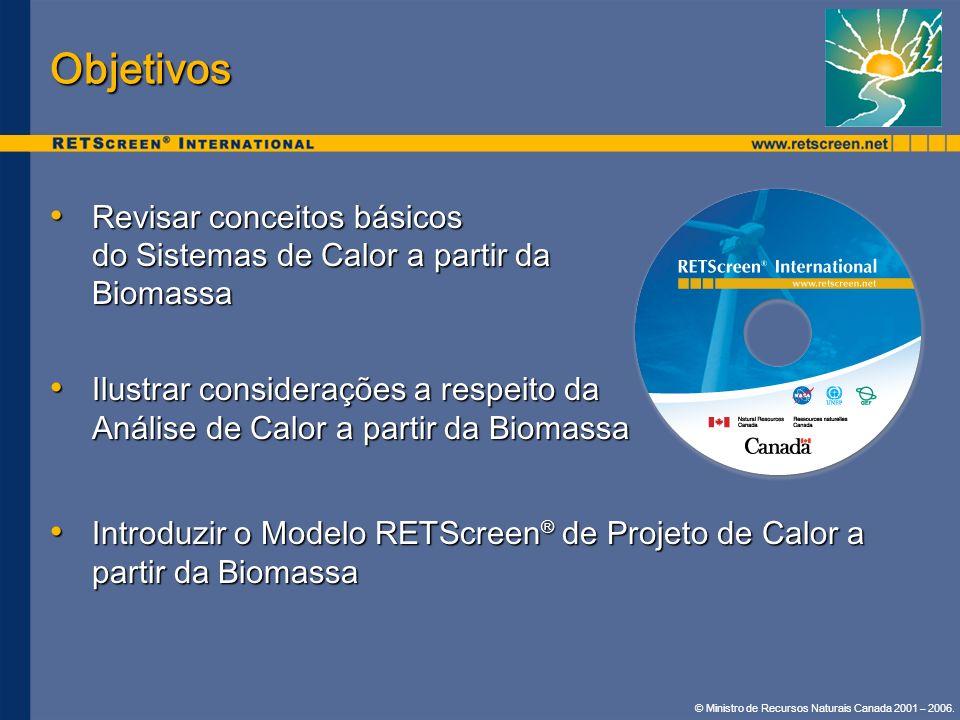 Objetivos Revisar conceitos básicos do Sistemas de Calor a partir da Biomassa.