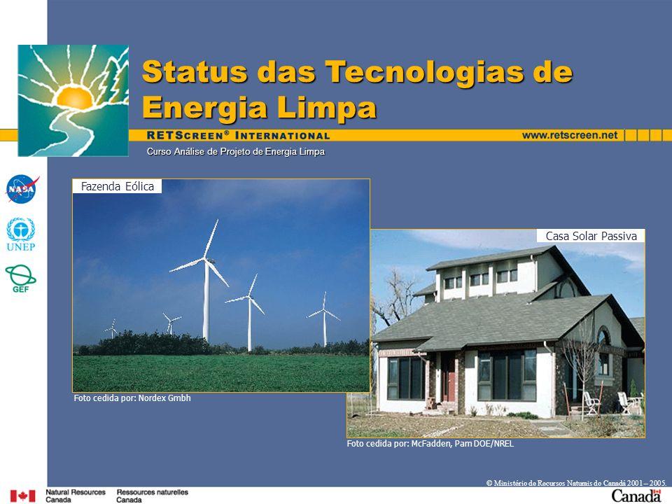 Curso Análise de Projeto de Energia Limpa