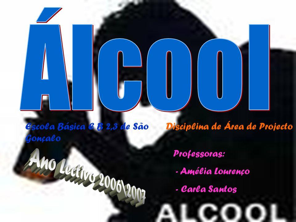 Álcool Ano Lectivo 2006\2007 Escola Básica E B 2,3 de São Gonçalo