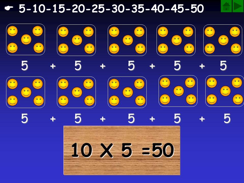  5-10-15-20-25-30-35-40-45-50 5 + 5 + 5 + 5 + 5. 5 + 5 + 5 + 5 + 5.
