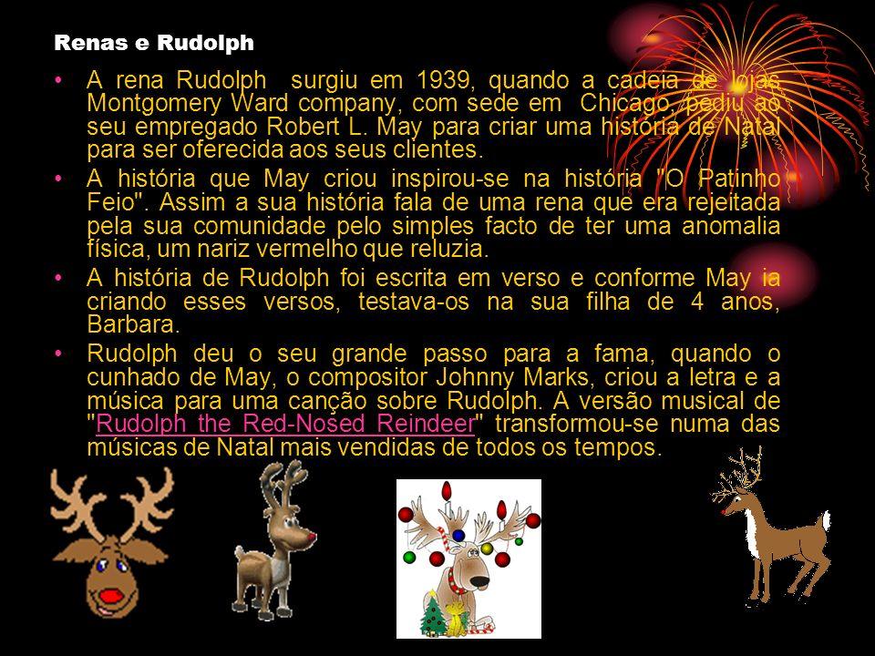 Renas e Rudolph