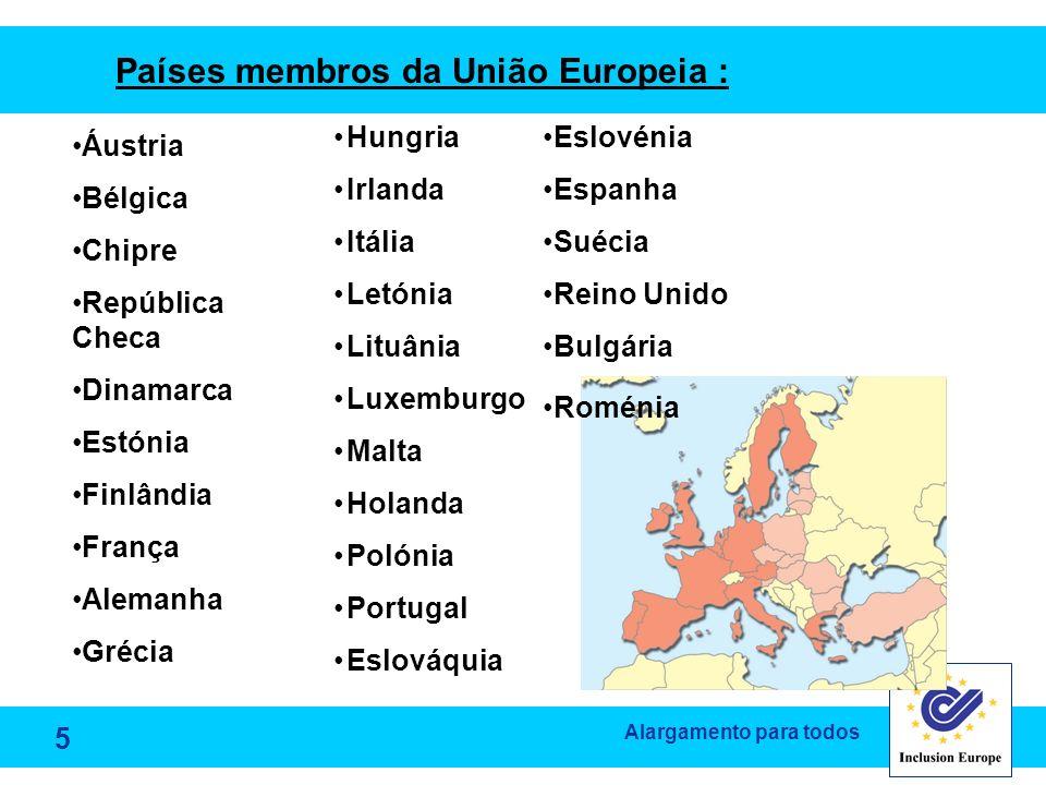 Países membros da União Europeia :