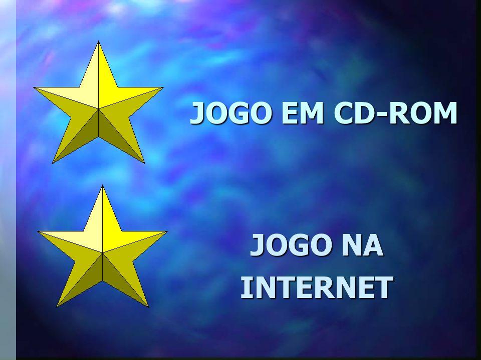 JOGO EM CD-ROM JOGO NA INTERNET