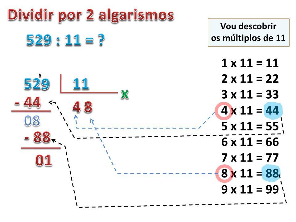 Dividir por 2 algarismos