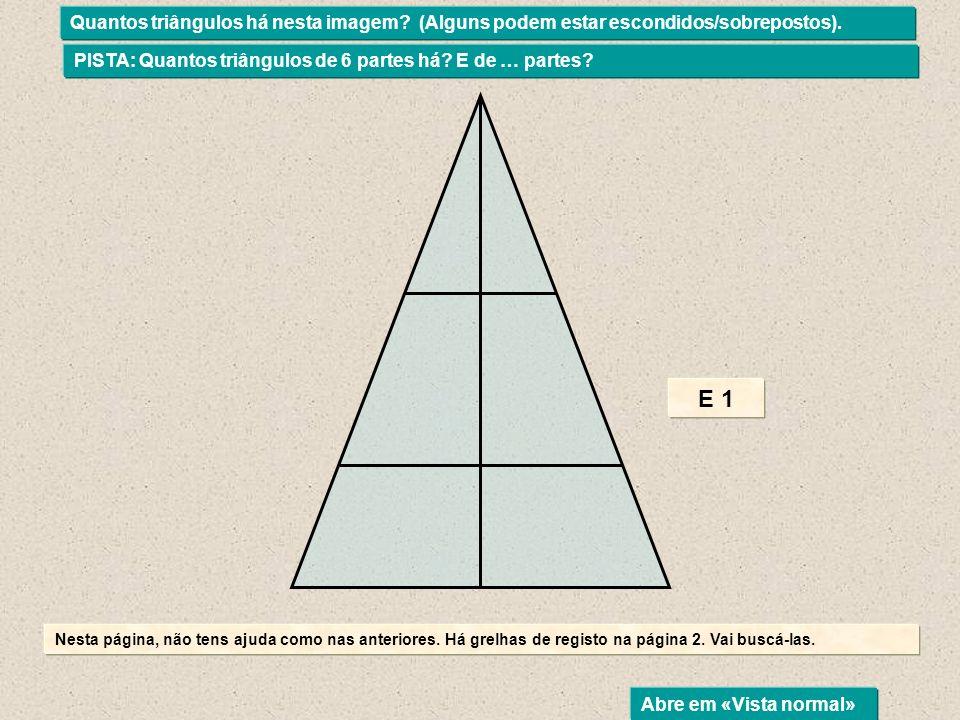 Quantos triângulos há nesta imagem