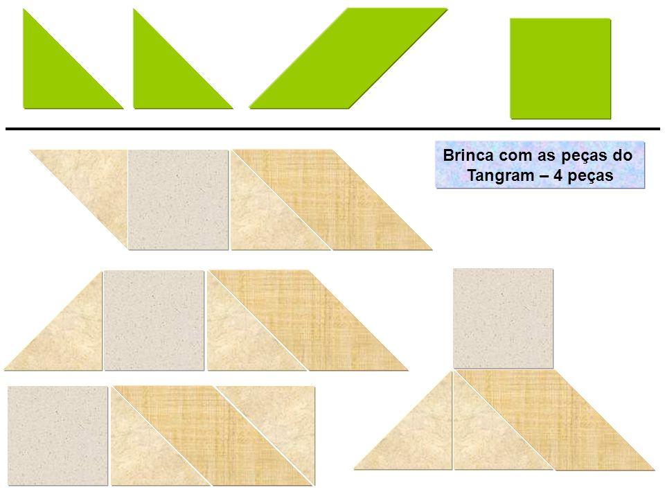Brinca com as peças do Tangram – 4 peças