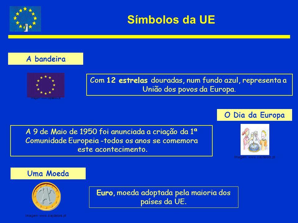 Símbolos da UE A bandeira
