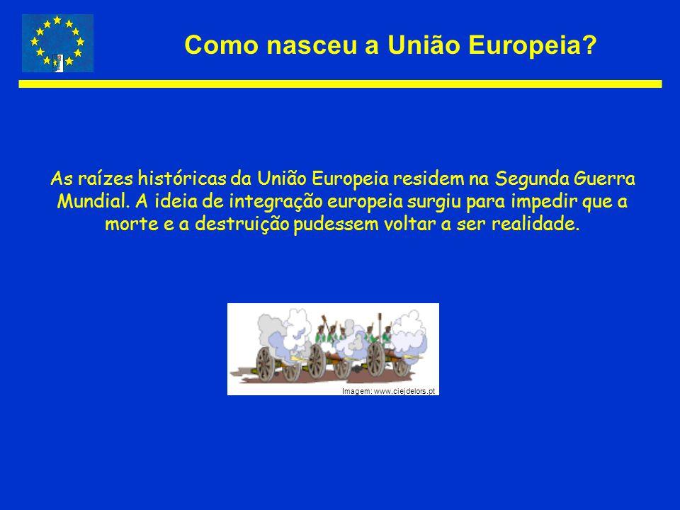 Como nasceu a União Europeia