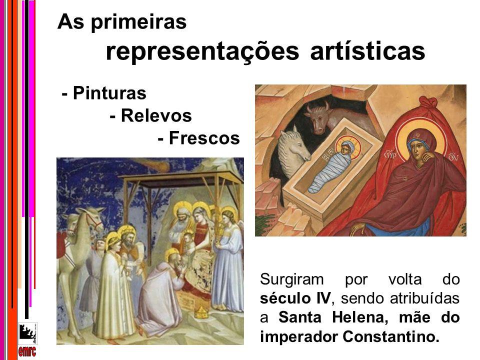 emrc As primeiras representações artísticas - Pinturas - Relevos