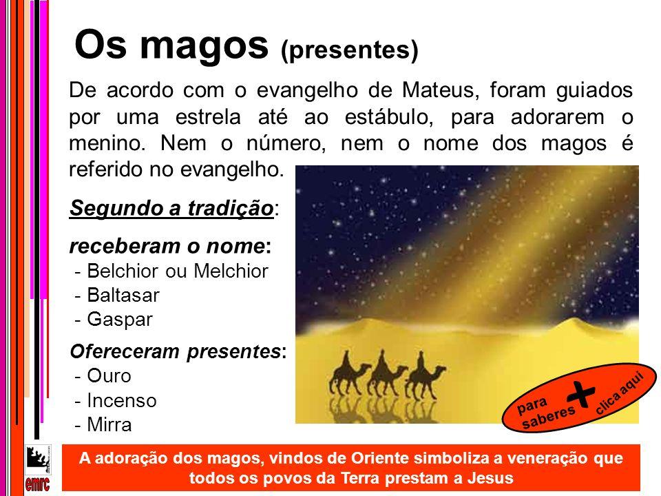 + Os magos (presentes) emrc