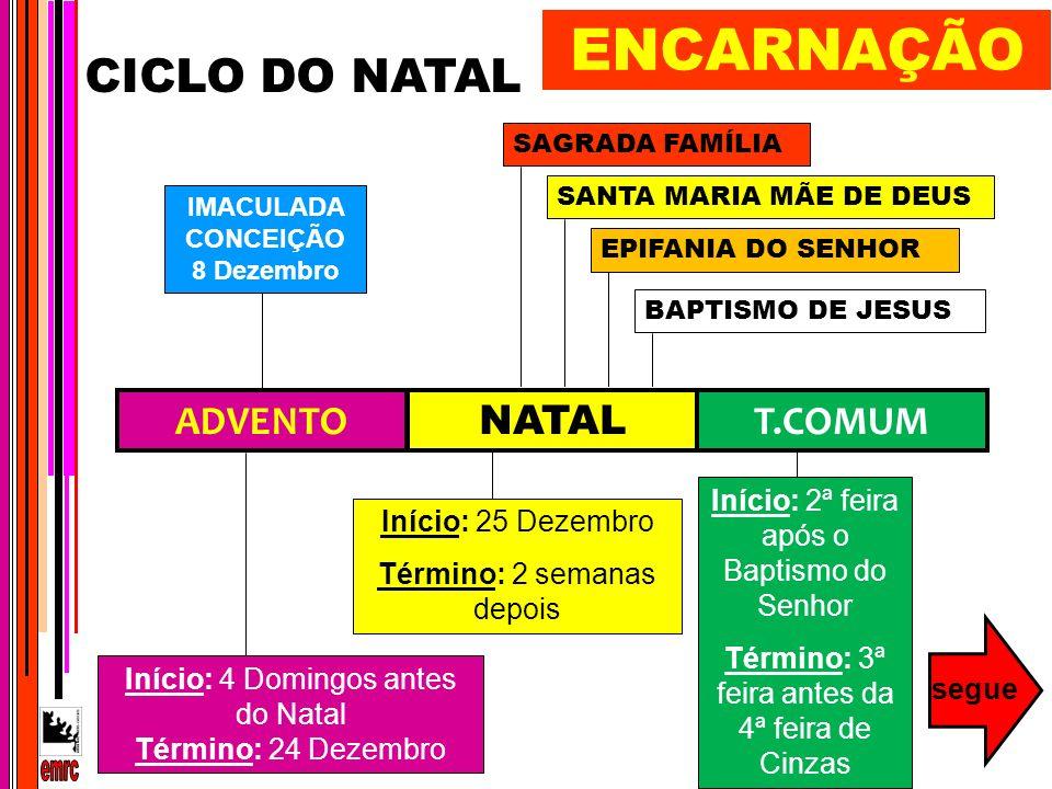 IMACULADA CONCEIÇÃO 8 Dezembro