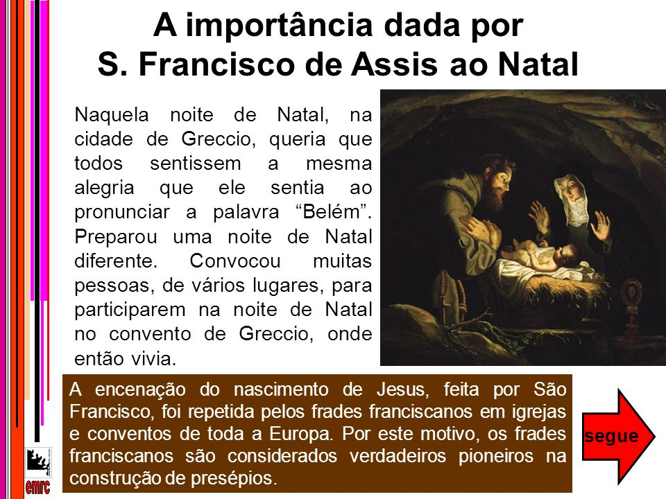 S. Francisco de Assis ao Natal