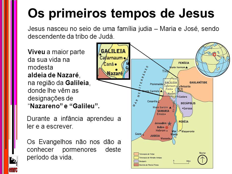 Os primeiros tempos de Jesus