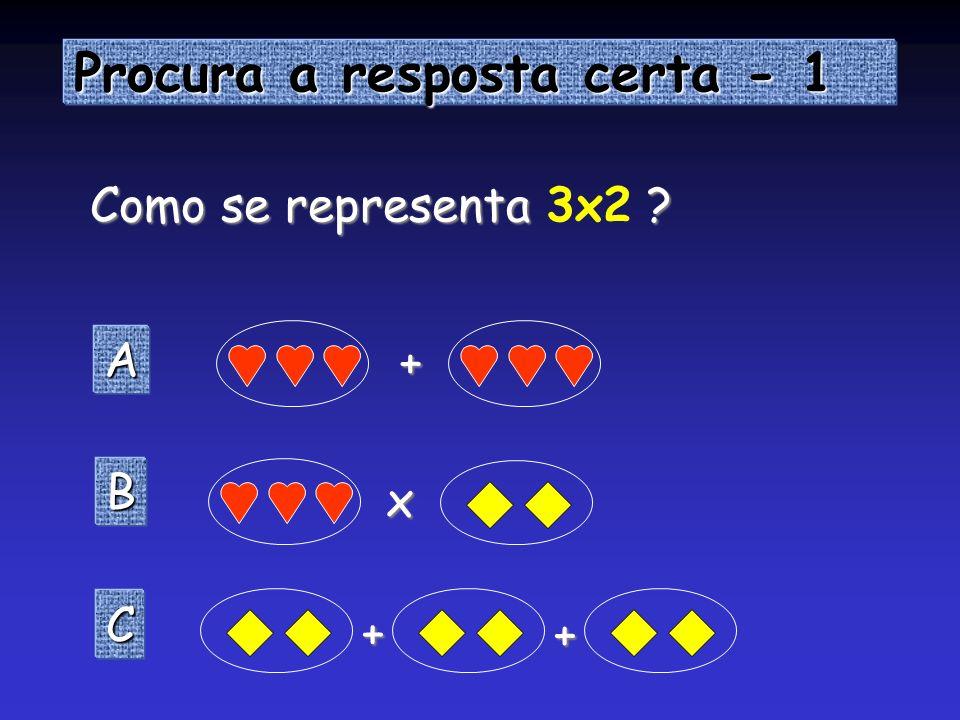 Procura a resposta certa - 1