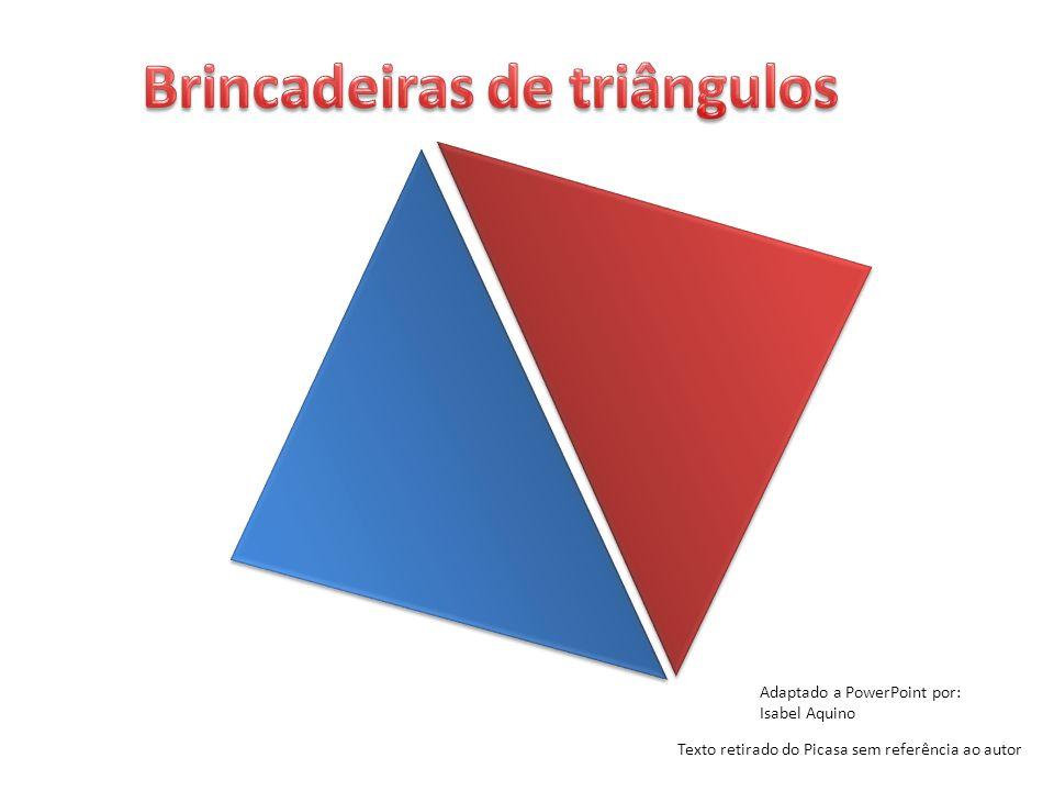 Brincadeiras de triângulos