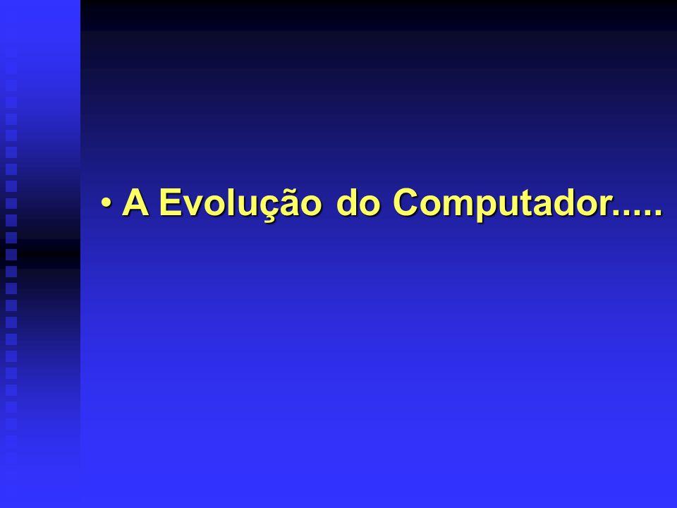A Evolução do Computador.....