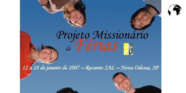 Projeto Missionário de Férias