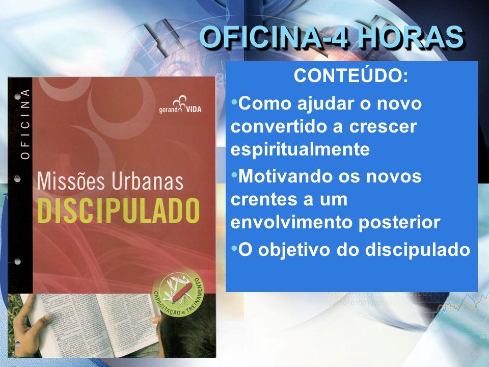 OFICINA-4 HORAS CONTEÚDO: