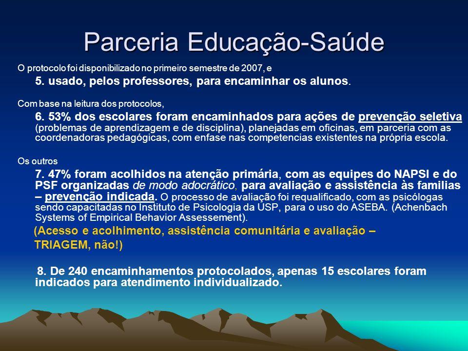 Parceria Educação-Saúde