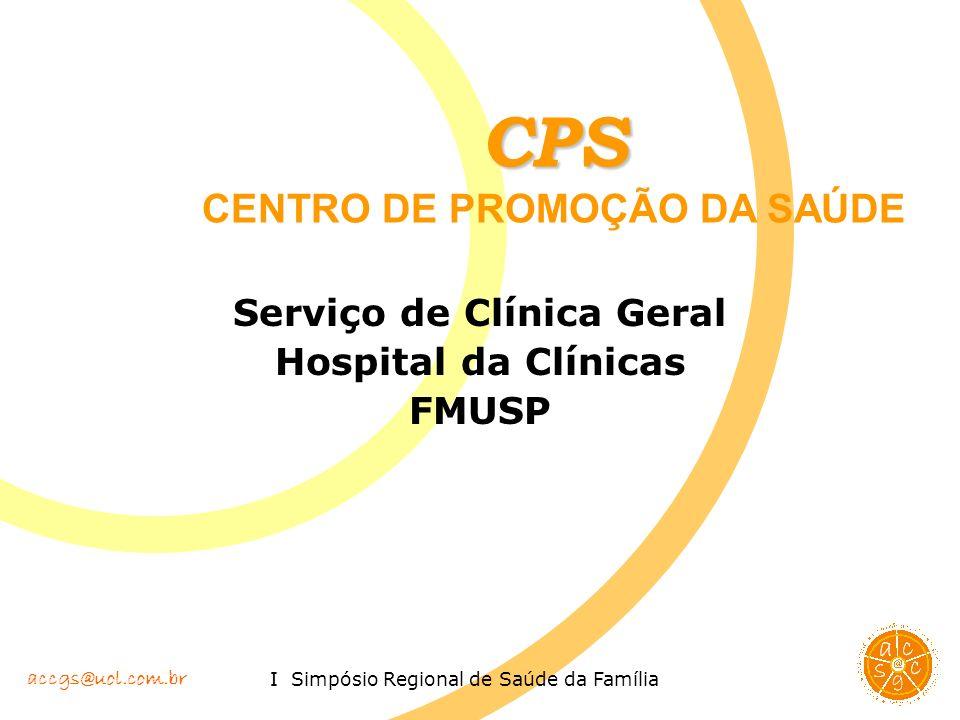 Serviço de Clínica Geral Hospital da Clínicas FMUSP