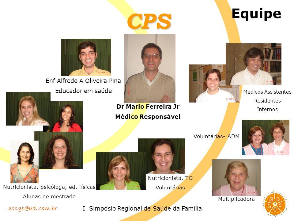 CPS Equipe Enf Alfredo A Oliveira Pina Educador em saúde