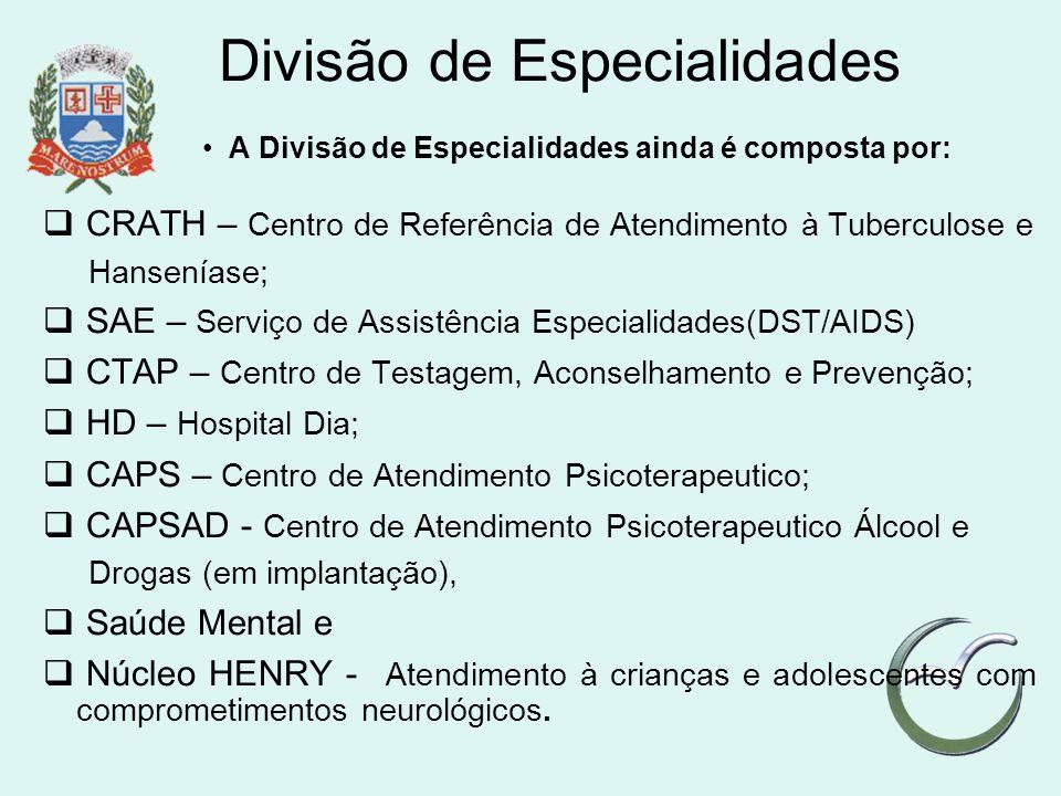 Divisão de Especialidades