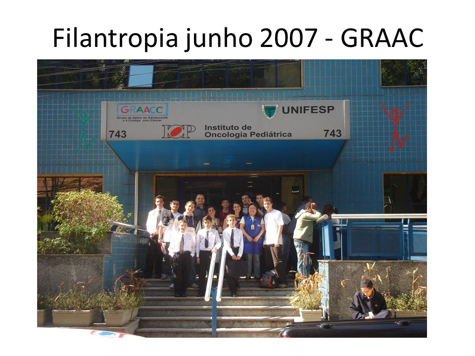 Filantropia junho 2007 - GRAAC