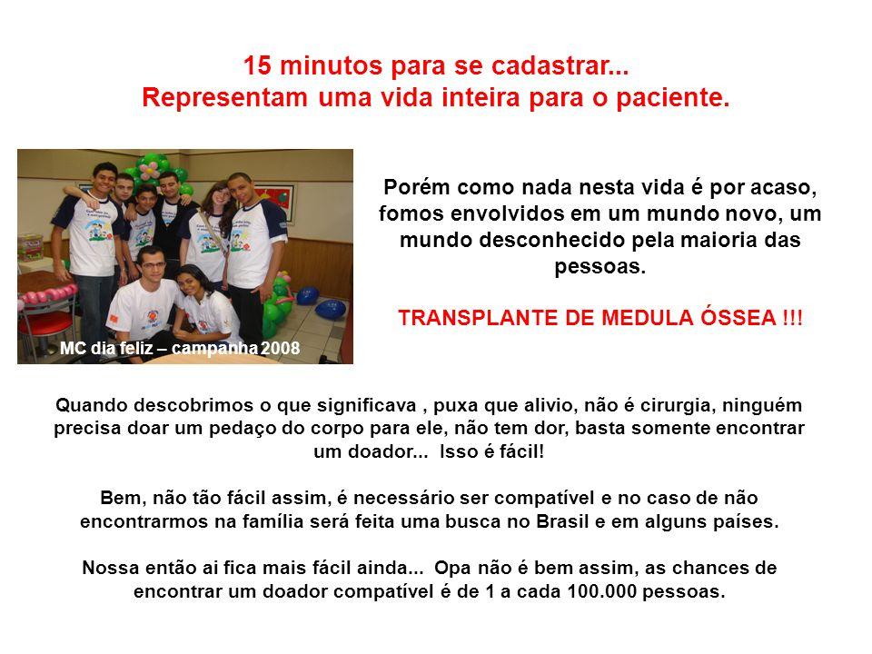 TRANSPLANTE DE MEDULA ÓSSEA !!!