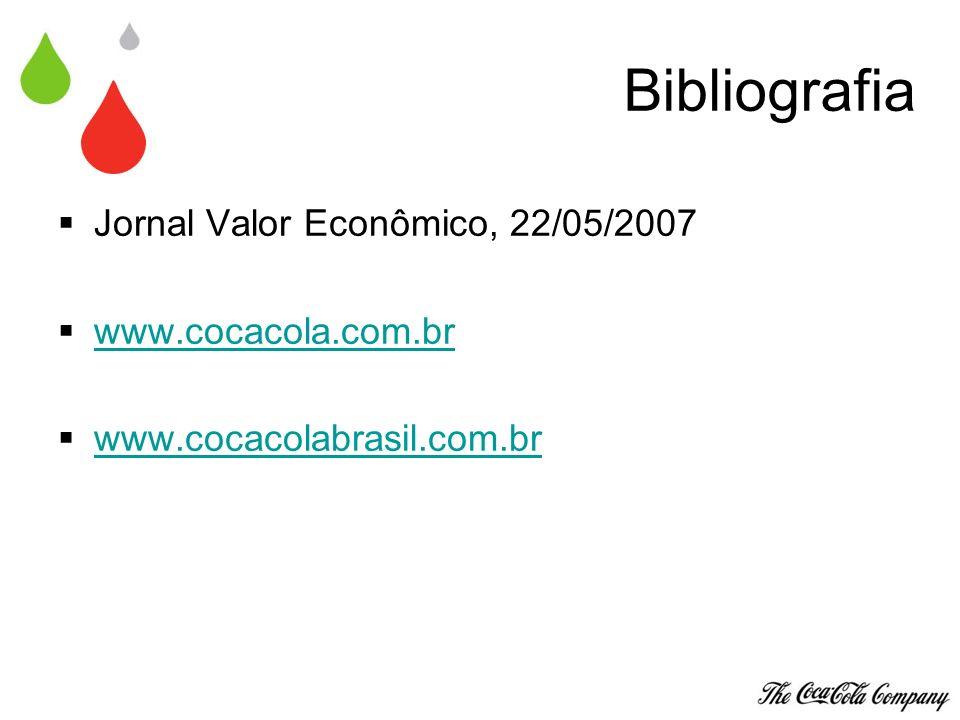 Bibliografia Jornal Valor Econômico, 22/05/2007 www.cocacola.com.br