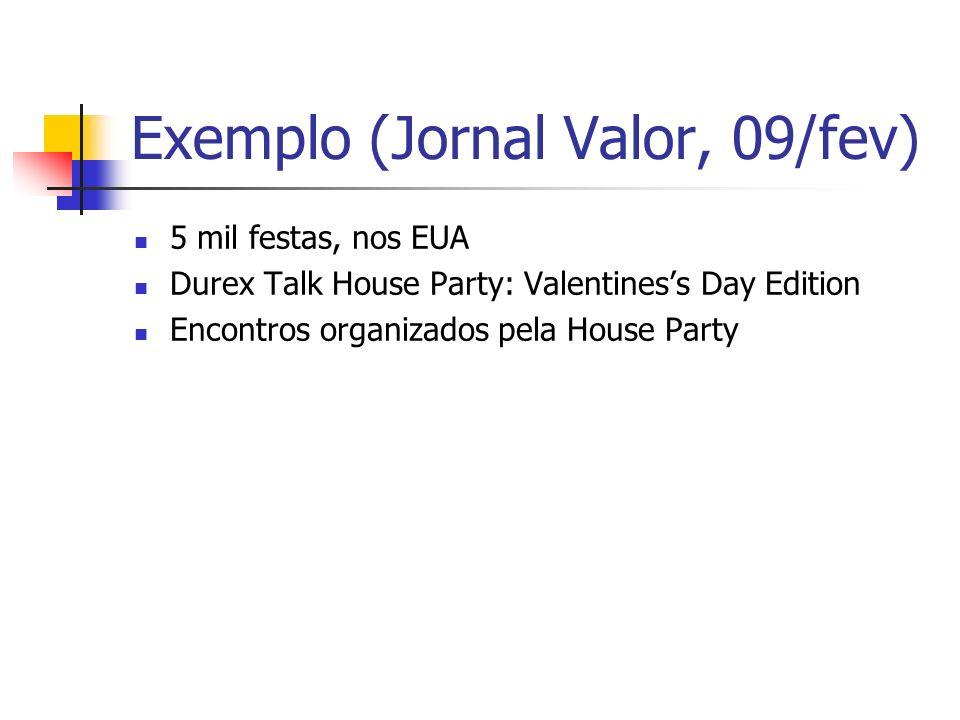 Exemplo (Jornal Valor, 09/fev)
