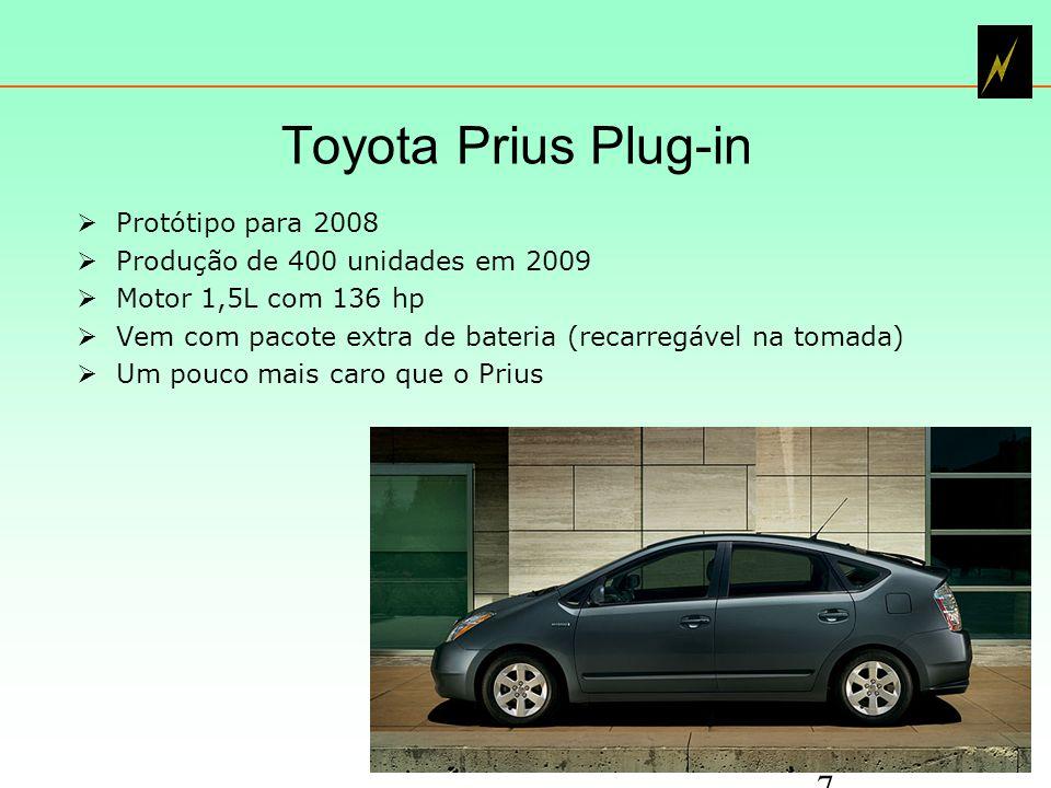 Toyota Prius Plug-in Protótipo para 2008