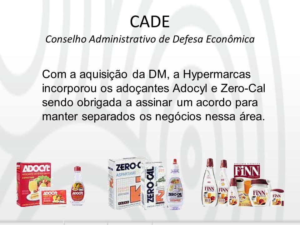 CADE Conselho Administrativo de Defesa Econômica