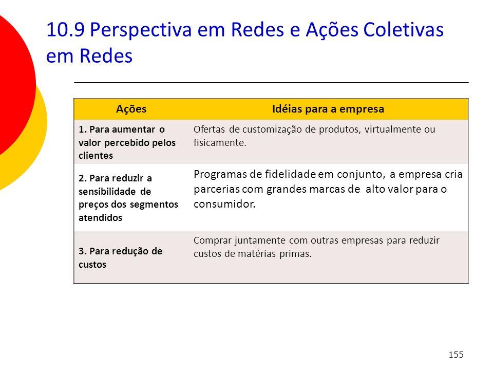 10.9 Perspectiva em Redes e Ações Coletivas em Redes