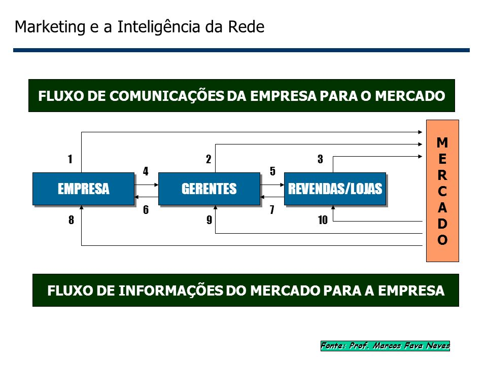 Marketing e a Inteligência da Rede
