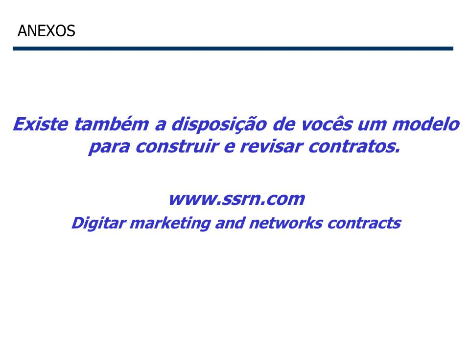 Digitar marketing and networks contracts