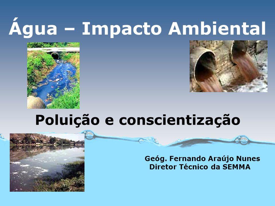 Água – Impacto Ambiental